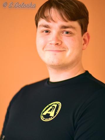 Pascal ist Trainer beim Team von Aspis-Defense